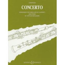 Partition hautbois Cimarosa Concerto en do mineur Kiosque musique Avignon
