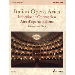 Italian opera arias Baryton Ed21418 Kiosque musique Avignon
