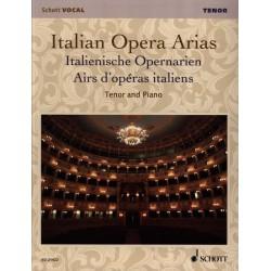 ITALIAN OPERA ARIAS TENOR ED21422 Kiosque musique Avignon