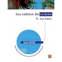 Daniel Goyone Les Cahiers du Rythmes SB4088 Kiosque musique Avignon