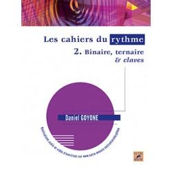Daniel Goyone Les Cahiers du rythmes volume 2 - Kiosque musique Avignon