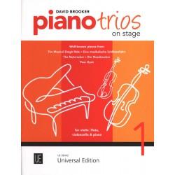PIANO TRIOS ON STAGE UE38042 Kiosque musique Avignon