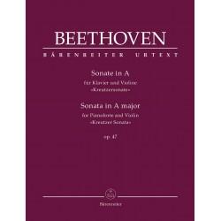 Partition violon Beethoven Kreutzer Sonate - Kiosque musique Avignon