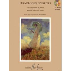 Mélodies Favorites de Jacqueline Bonnardot - Kiosque musique Avignon