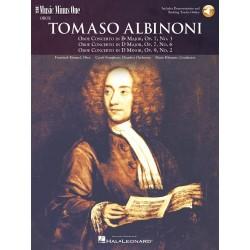 Partition hautbois Albinoni - Kiosque musique Avignon
