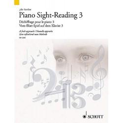 Partition déchiffrage piano - Volume 3 - John KEMBER - Kiosque Musique Avignon