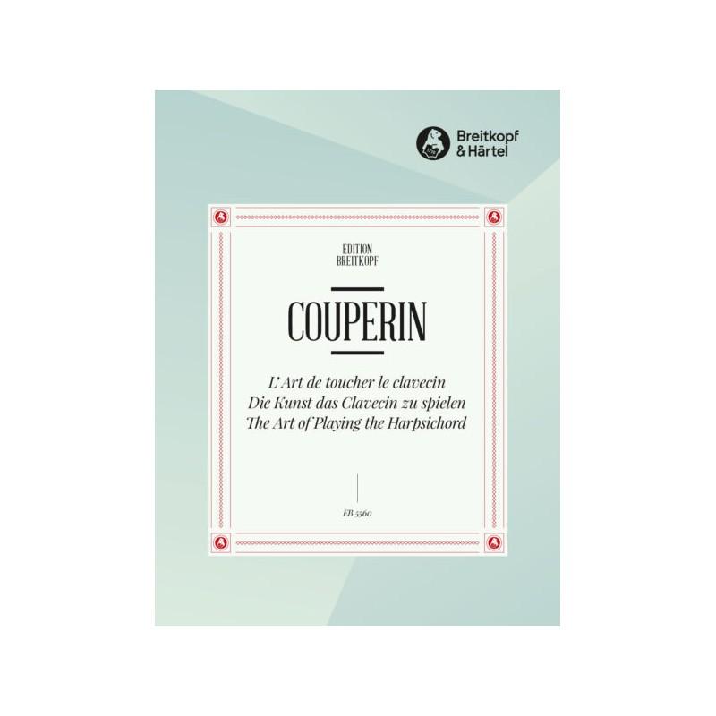 Partition François Couperin - L'Art de Toucher le Clavecin - Kiosque musique Avignon