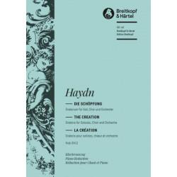Partitio Haydn La Création chant et piano - Kiosque musique Avignon