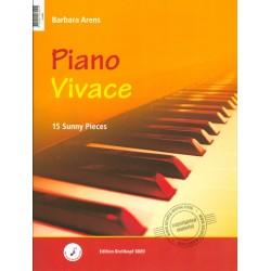 Partition - Piano Vivace - Piano Tranquillo - Barbara ARENS - Breitkopf & Härtel - Kiosque Musique Avignon