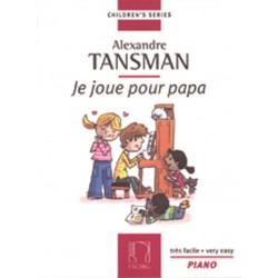 Partition piano Alexandre Tansman - Kiosque musique Avignon