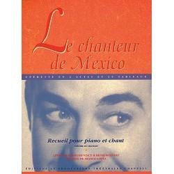 Partition Le Chanteur de Mexico - Kiosque musique Avignon