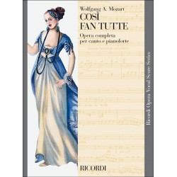 Partition Mozart Cosi Fan Tutte Chant et piano - kiosque musique Avignon