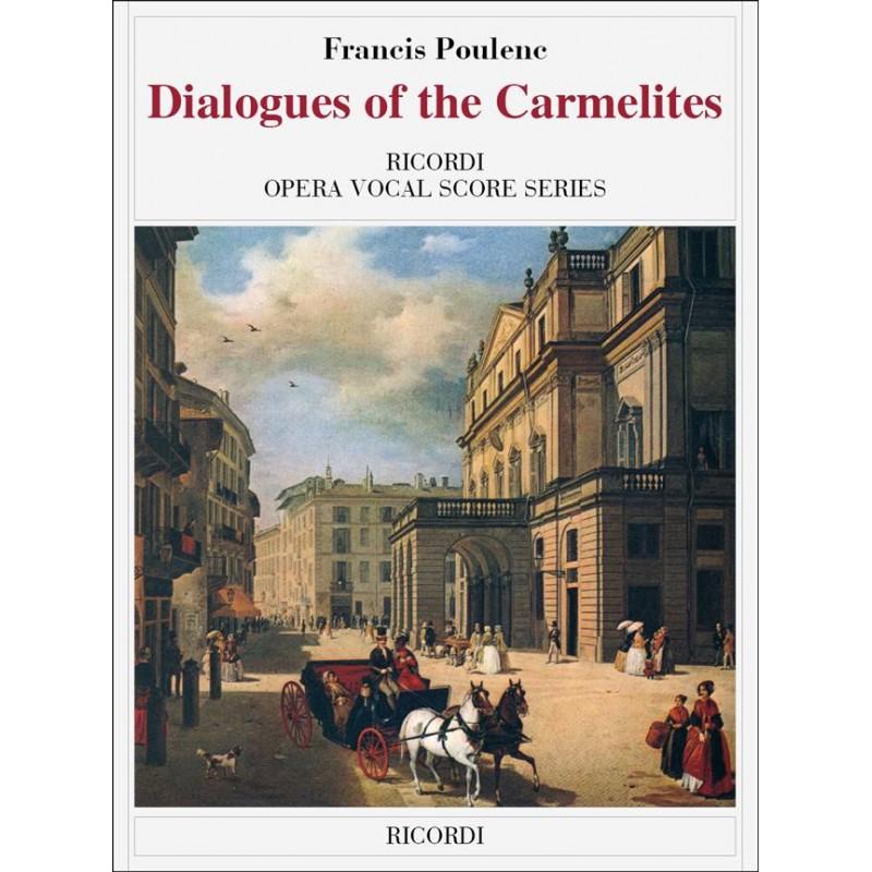 Partition Poulenc Dialogues des Carmélites - Kiosque musique Avignon
