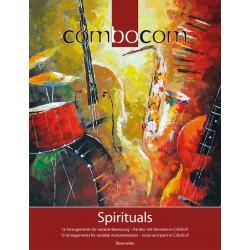 Partition COMBOCOM Spirituels - BUCKLAND Graham - BAERENREITER - Kiosque Musique Avignon