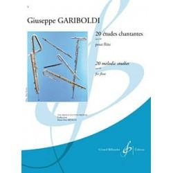 Partition flûte Gariboldi Etudes chantantes - Kiosque musique Avignon