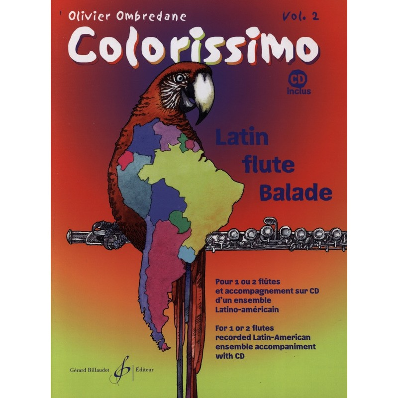 Partition flûte Colorissimo - Kiosque musique Avignon