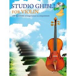 Partition violon STUDIO GHIBLI - Avignon