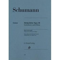 Partition Schumann Les Amours du Poète - Kiosque musique Avignon