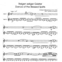 Partition 2 violons Plainte d'Orphée - Le kiosque à musique Avignon