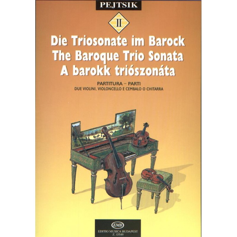 Partition trio avec piano - The Baroque trio sonata - Avignon