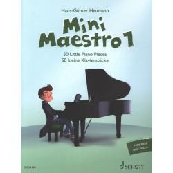 Partition Mini Maestro 1 - HANS-GÜNTER HEUMANN - SCHOTT - Kiosque Musique Avignon