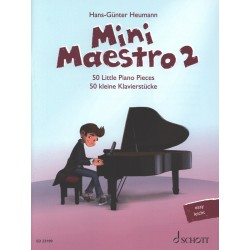 Partition Mini Maestro 2 - HANS-GÜNTER HEUMANN - SCHOTT - Kiosque Musique Avignon