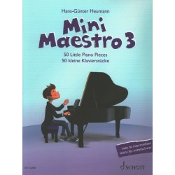 Partition Mini Maestro 3 - HANS-GÜNTER HEUMANN - SCHOTT - Kiosque Musique Avignon