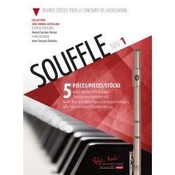 Partition SOUFFLE 1 pour flûte - Kiosque musique Avignon