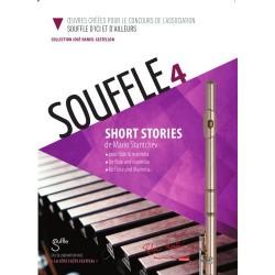 Partition SOUFFLE 4 - flûte traversière - José-Daniel CASTELLON - ROBERT MARTIN - Kiosque Musique Avignon