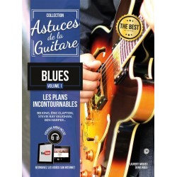 ASTUDES DE LA GUITARE BLUES volume 1 - Kiosque musique Avignon