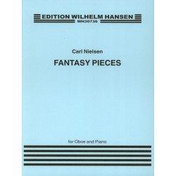 CARL NIELSEN Fantasy Pieces Opus 2 - Partition hautbois - WH30736 - Kiosque musique Avignon