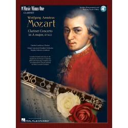 Partition Concerto clarinette de MOZART - MMO3232 - Le kiosque à musique