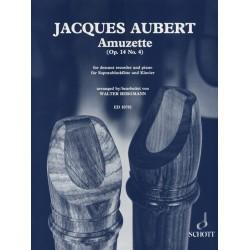 Partition Amuzette de Jacques AUBERT ED10781 - Kiosque musique Avignon