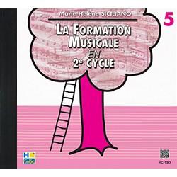 SICILIANO CD formation musicale volume 5 - Avignon