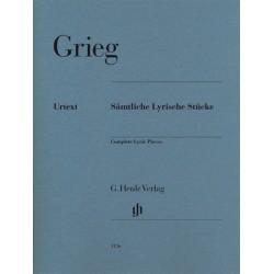 Partition Pieces Lyriques de Grieg - Kiosque musique Avignon