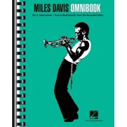 Partition Miles Davis Omnibook - PARKER Charlie - HAL LEONARD - Kiosque Musique Avignon