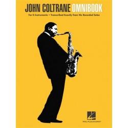Partition John Coltrane - Omnibook - John COLTRANE - HAL LEONARD - Kiosque Musique Avignon