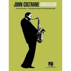 Partition John Coltrane - Omnibook John COLTRANE - HAL LEONARD - Kiosque Musique Avignon