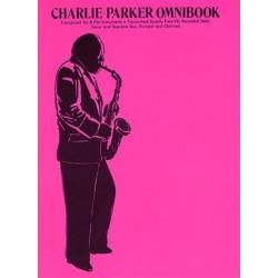 Partition Charlie Parker Omnibook - Charlie PARKER - HAL LEONARD - Kiosque Musique Avignon