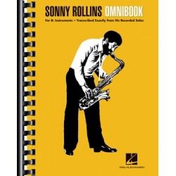 Partition Sonny Rollins Omnibook for B-Flat Instruments - Sonny Rollins - HAL LEONARD - Kiosque Musique Avignon