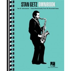 Partition Stan Getz - Omnibook - Stan GETZ  - HAL LEONARD - Kiosque Musique Avignon