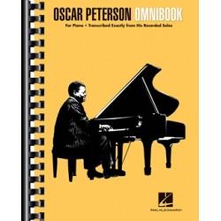 Partition Oscar Peterson - Omnibook - Oscar PETERSON - HAL LEONARD - Kiosque Musique Avignon
