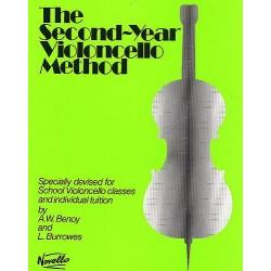 THE SECOND YEAR VIOLONCELLO METHOD - AVIGNON