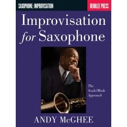 IMPROVISATION FOR SAXOPHONE - Andy McGhee - Avignon