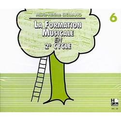 La formation musicale en 2e cycle volume 6 Le kiosque à musique Avignon