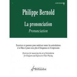 PHILIPPE BERNOLD LA PRONONCIATION - AVIGNON