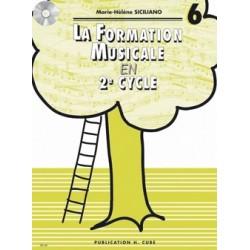 La formation musicale en 2e cycle volume 6 - le kiosque à musique Avignon