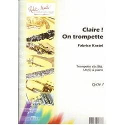 FABRICE KASTEL CLAIRE ON TROMPETTE - KIOSQUE MUSIQUE AVIGNON
