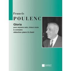 PARTITION GLORIA POULENC - KIOSQUE MUSIQUE AVIGNON