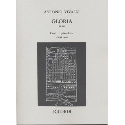 PARTITION VIVALDI GLORIA - KIOSQUE MUSIQUE AVIGNON